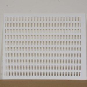 Materská mriežka plastová 380×475